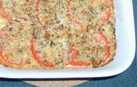 トマトの簡単グラタン