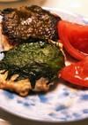 とりひき肉と絹豆腐と大葉のつくね