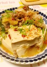 味しみしみ♡肉豆腐