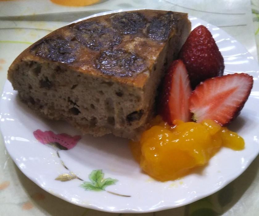 HM,チョコ,バナナ,炊飯器で作るケーキ