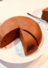 炊飯器で作る!簡単チョコレートケーキ