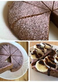 炊飯器でほったらかし!簡単チョコケーキ