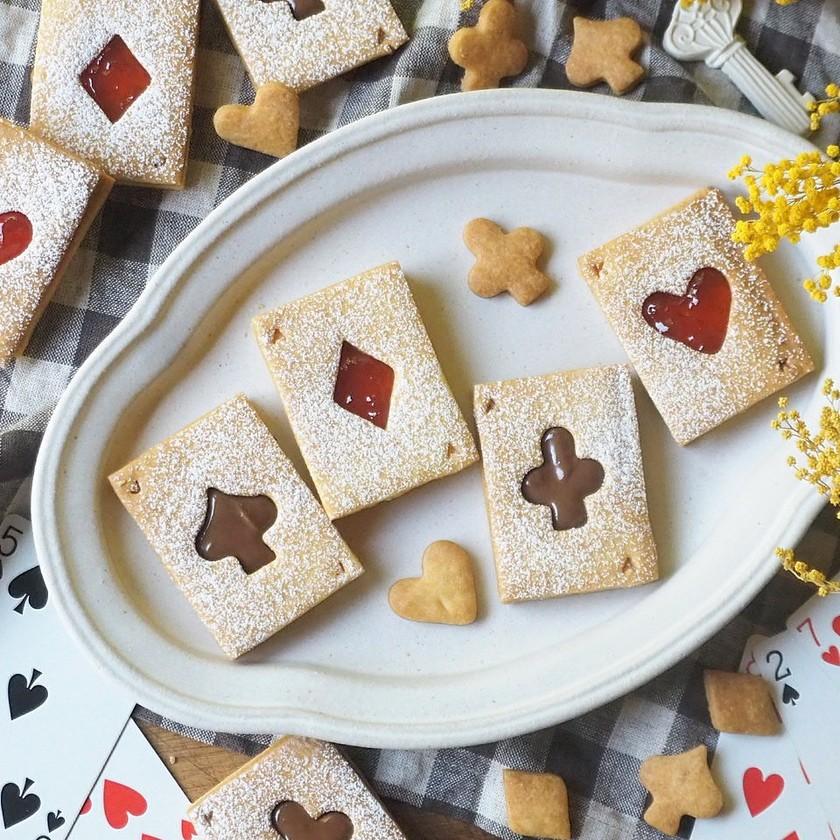 簡単可愛い♡トランプクッキー