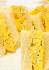レンジで♬簡単厚焼き玉子のサンドイッチ