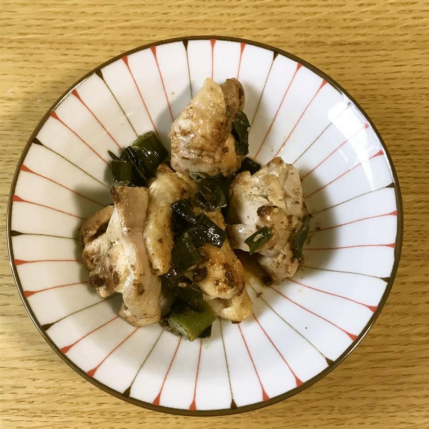 九条ねぎと鶏肉のマヨソテー