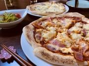 ほくほくポテトチーズピザの写真