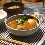 手羽元の黒酢煮の写真