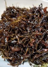 アケビの芽の佃煮風・保存食