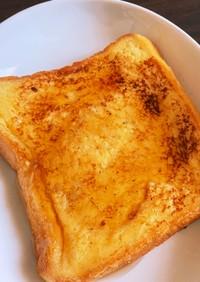 男料理 甘い耳ありフレンチトースト 朝食