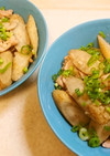 新ごぼうと豚肉のにんにく味噌炒め