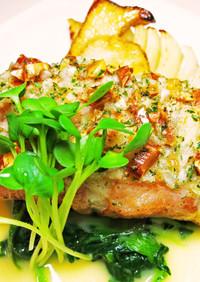 ★白身魚のロースト カフェ・ド・パリ風★