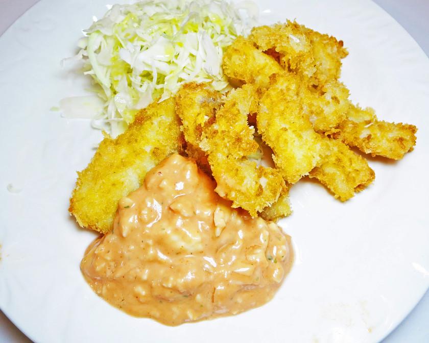 ★白身魚のフライとおいしいソース★