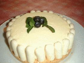 混ぜて冷やして簡単!レア・チーズ・ケーキ Rare Cheese cake