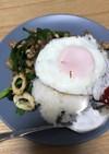 豚挽肉ガパオライス