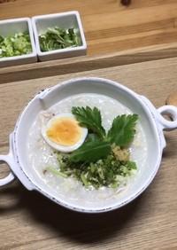 【漫画飯】山芋と生姜のお粥 堀北家風