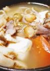 具沢山のが美味!醤油麹の鰤アラすまし汁
