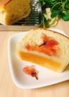 発酵不要☆バターなし!米粉のジャム食パン