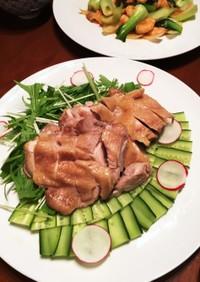 【簡素・簡単・基本】蒸し鶏(応用は何十)