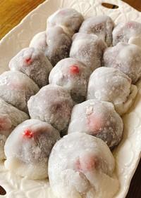 いちご大福!こつぶ苺を使った簡単レシピ
