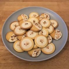 簡単 ホワイトチョコのクッキー