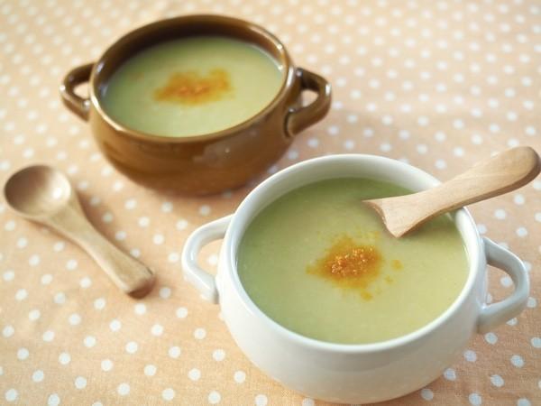 【離乳食後期〜】キャベツと男爵のスープ