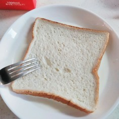牛乳浸しパン。