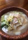 白菜大量消費に簡単白菜とツナの葛煮
