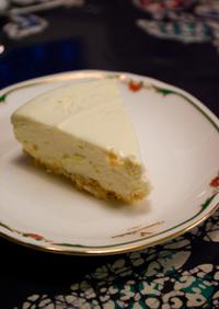 超濃厚!とろける♪レアチーズケーキ