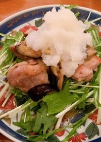 鶏もも肉のぽん酢炒め✩大根おろし