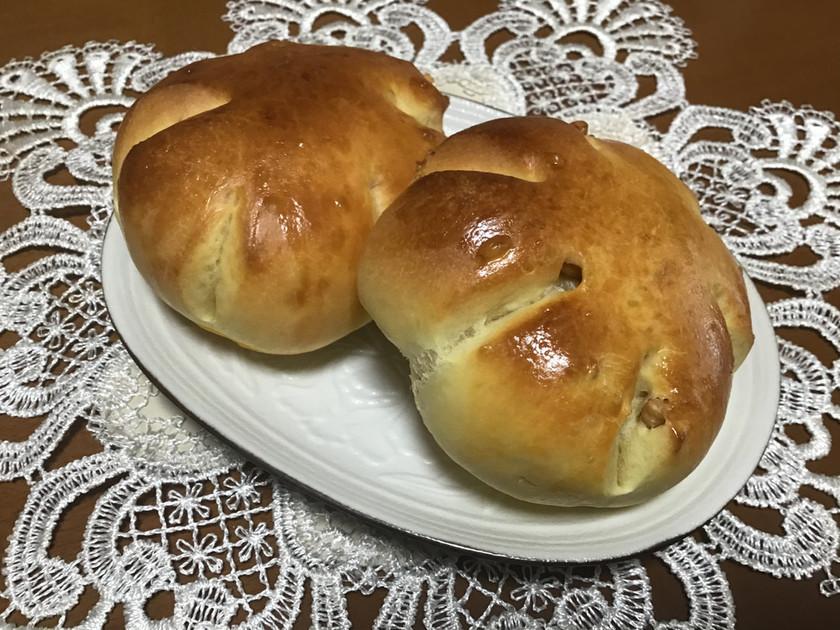 手ごね&冷蔵発酵で究極のクルミパン!