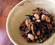 ひじきと大豆の煮物の写真