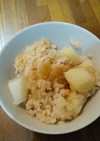 めんつゆだけのじゃが芋の炊き込みご飯