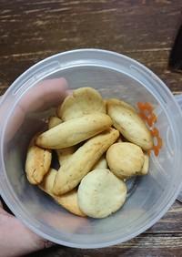 赤ちゃんの離乳食クッキー