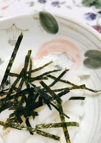 アガベシロップで長芋の酢の物