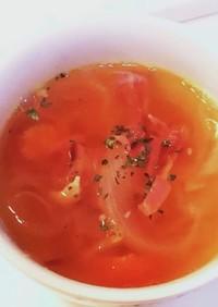 トマト嫌いでも食べる!簡単玉ねぎスープ