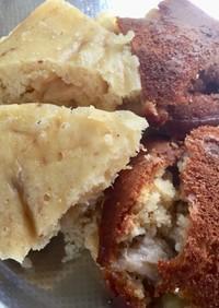 HCM、炊飯器で楽々バナナケーキ