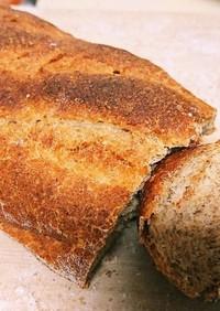 全粒粉100%でフワフワもちもちパン