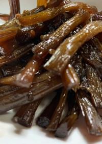 キャラブキと山椒の佃煮