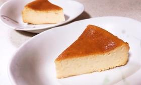 生クリームなし!簡単ベイクドチーズケーキ