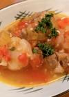 ラム肉のトマト煮込みスープ