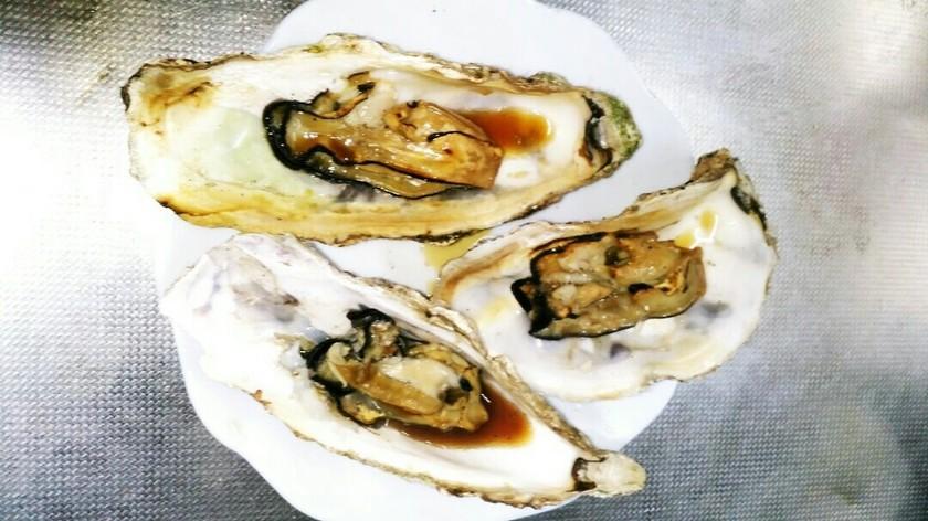 焼き牡蠣~グリルで♪殻1枚の牡蠣