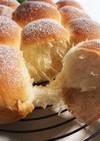 ホームベーカリーで簡単★ミルクちぎりパン
