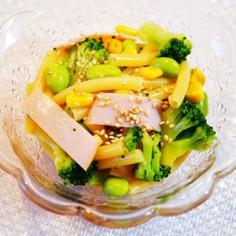 中華風マカロニサラダ