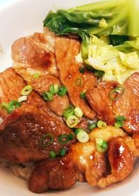 北海道郷土料理☆豚丼