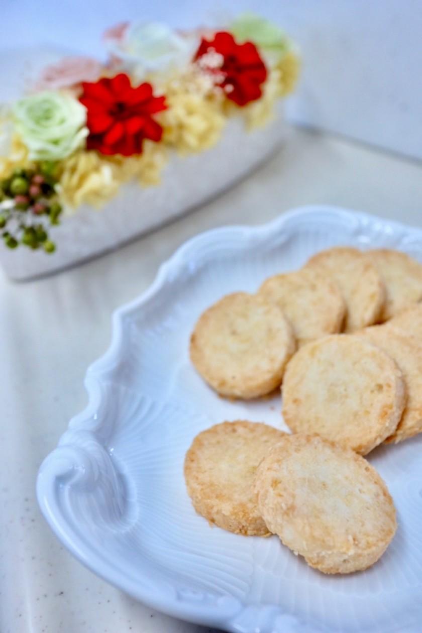 乳製品・卵不使用♡さわやかレモンクッキー