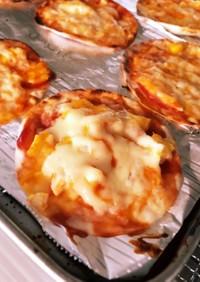 餃子の皮で簡単パリパリポテトピザ