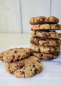 オートミールのチョコチャンククッキー
