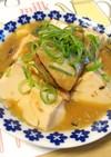 鯖缶で♪鯖と豆腐の味噌煮