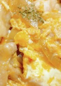 ふわとろ卵*めんつゆで作る!親子丼