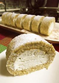 緑茶のロールケーキ♡